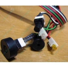 Светодиоды в Ногинске, кнопки и динамик (с кабелями и разъемами) для корпуса Chieftec (Ногинск)