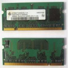 Модуль памяти для ноутбуков 256MB DDR2 SODIMM PC3200 (Ногинск)